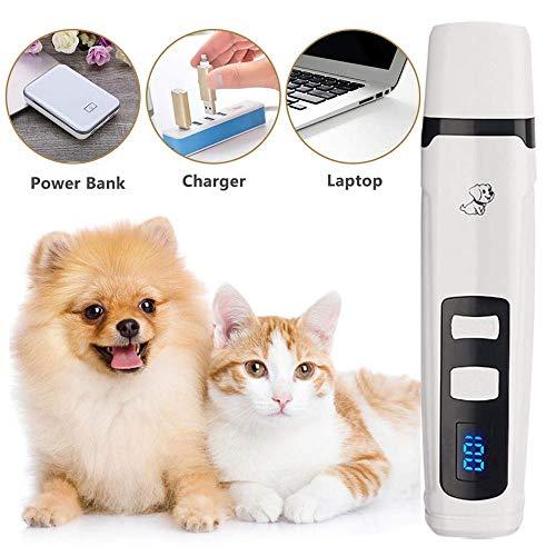 QWEIAS klauwslijper voor honden, hond nagelpolijsten elektrische honden High Power nagelknipper Cat Lade Manicure Set