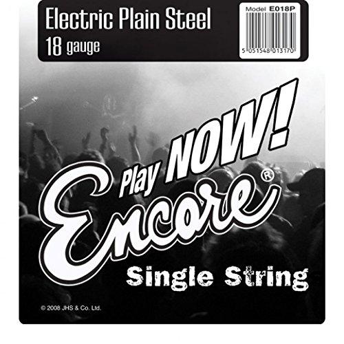 Encore e018p S de guitarras Acero 0,018pulgadas de cuerda