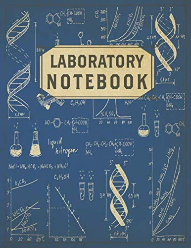 Laboratory Notebook: Back to School. Quad Ruled Lab Notebook with 5 mm Grid Squares for High School, College Students, Research and Sciences. 180 Pages in total.