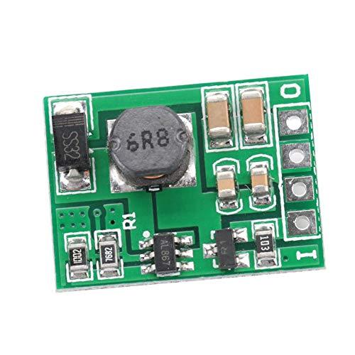 Módulo regulador de refuerzo de voltaje DC-DC 2.6-5.5V a 5V / 6V / 9V / 12V Fuente de alimentación elevadora para encendido/apagado(12V)
