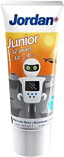 Jordan Junior Toothpaste, 6-12 Years, 50ml ' 1 Units