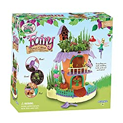 Toys-that-Start-with-F-Fairy Garden Nature Cottage