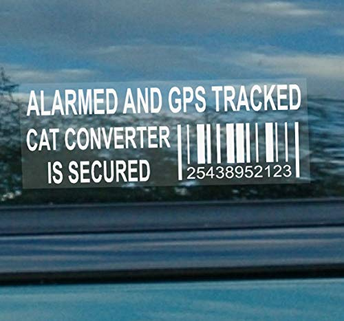 Platinum Place 5 x CAT Catalytic Converter Secured Vehicle Alarm and GPS...