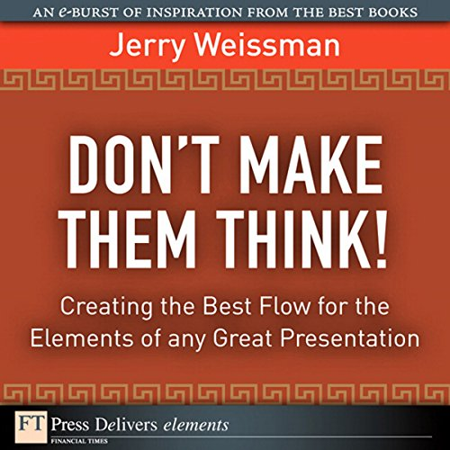 Don't Make Them Think! audiobook cover art