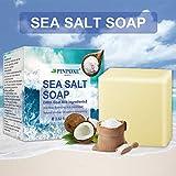 Akne seife, Handgemachtes Seife, Natural Seife, Gesicht Seife, Sea Salt Seife, Reinige Gesicht und Körper für alle Hauttypen, Für Akne, Ekzem, Gesichtsreinigung Behandlung für Akne Prone Haut - 8