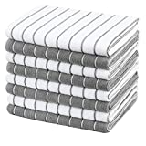 Gryeer Microfiber Kitchen Towels, Stripe Designed, Soft and Super Absorbent Dish Towels, P...