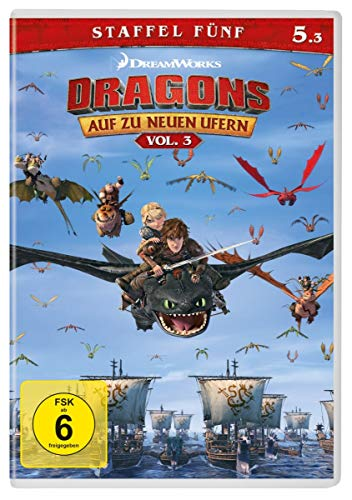 Dragons - Auf zu neuen Ufern: Staffel 5.3