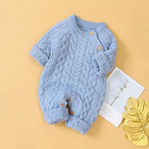 M & A Säuglingskleidung Winter insgesamt Baby Jungen Mädchen Kleidung Kapuzenstrick Jumpsuit Neugeborene Kleidung Weihnachtskostüme Baby Strampler-h_3M