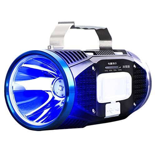 Perziklicht, koplamp, blauw, wit, dubbele lichtbron, oplaadbaar, super helder, nachtdoek, verblindingslicht, lange reikwijdte, waterdicht, xenon-lamp, lange gebruiksduur.