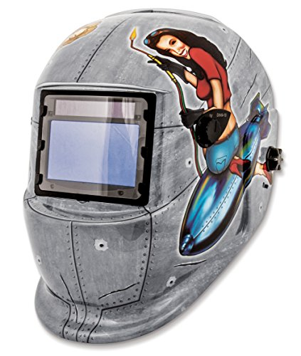 Shop Iron 41288 Solar Powered Auto Darkening Welding Helmet