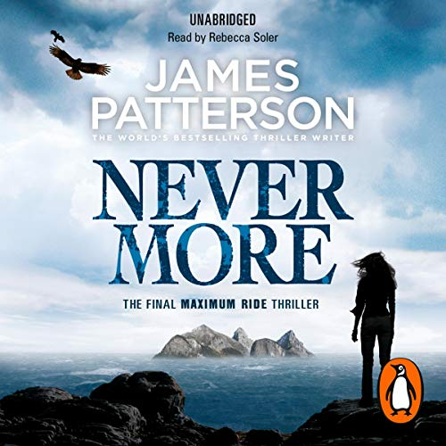 Maximum Ride: Nevermore audiobook cover art