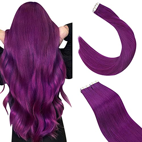 Ugeat Color Hair Extensions Purple …