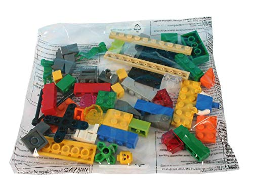 Lego - Serious Play Window Exploration Bag, Juego de construcción, 10 paquetes, 490 piezas, 6 años