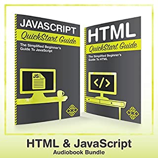 HTML and JavaScript QuickStart Guides cover art