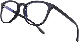 Vimbloom Gafas Ordenador Gaming UV Luz Filtro Proteccion Azul Mujer Hombre Para Antifatiga Gafas Luz Azul VI387 (Negro mate)
