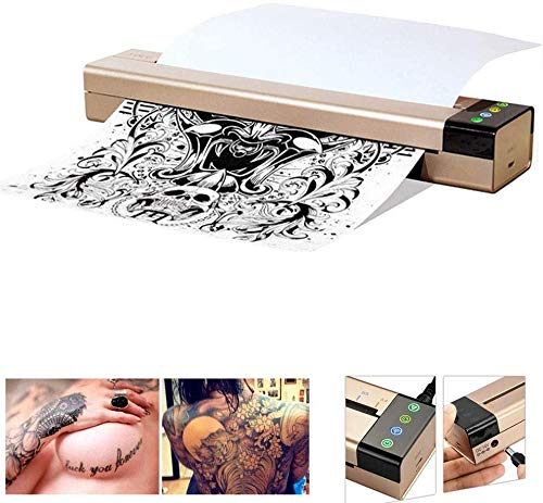 WXCCK Tattoo Transfer Machine, Printer Tattoo Thermische Stencil Printer Koper Machine Papier voor het afdrukken Transfer Printing Papier En Thermisch Papier