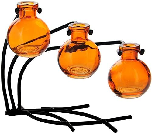 Couronne Company M504-200-08 Casablanca Three Vas Attention Long Beach Mall brand Glass Recycled