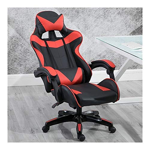 GAONAN Gaming Chair Office Chair Desk Chair Swivel Heavy Duty Chair Ergonomic Design with Cushion and Reclining Back Support Multifunctional swivel chair