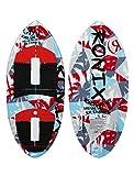 Ronix Super Sonic Space Odyssey Skimmer Wakesurf Board - White/Red/Blue - 3'11
