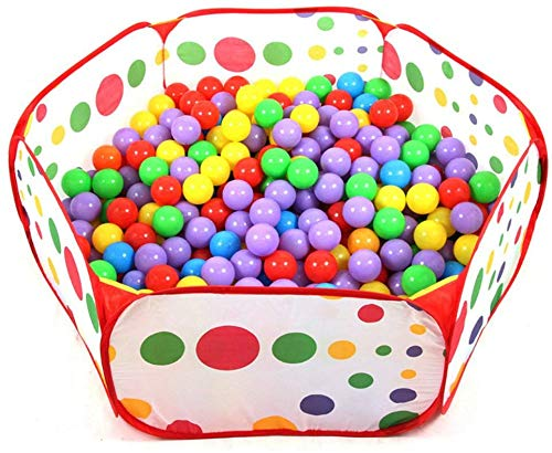 Westeng 1 Stück Bällebad Spielzeughaus Ballbecken Kinderspielzeug Meeresball Baby Kinder Farbe Spielzeug Zelte Spielkugelraum