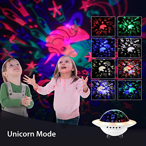 Ohuhu Proyector Estrellas Bebé, Lámpara Proyector Infantil Luz ...