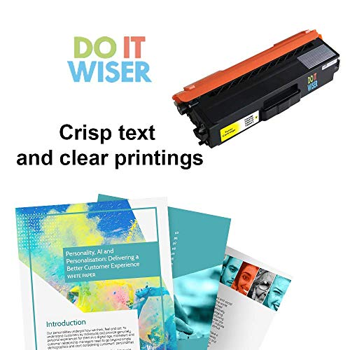 Do it Wiser Compatible Toner Cartridge for Brother TN336 TN315 TN310 TN331 Brother MFC-L8600CDW HL-L8350CDW MFC-L8850CDW MFC-9970CDW HL-4150CDN Printer (Yellow 3,500 Pages) Photo #4