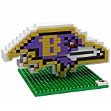 Baltimore Ravens NFL Football Team 3D BRXLZ LOGO Puzzle -