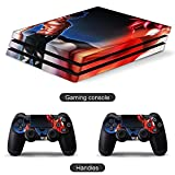 Natsu Dragneel Fairy Tail PS4 controller and console skin sticker protective cover wireless/wired gamepad controller Full body skin Body Vinyl Sticker Decal Cover Skin