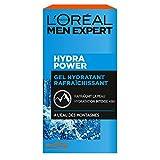 L'Oréal Men Expert - Gel Hydratant & Rafraîchissant pour Homme - Soin du Visage - Hydra Power - 50 ml