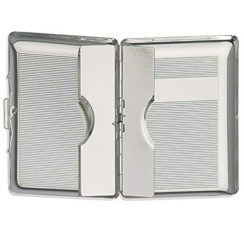 silberkanne - Porta Biglietti da Visita, 9,5 x 6 cm, Argentato, Lavorazione di qualità