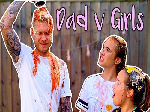 Eat It Or Wear It Challenge Dad Vs Daughters