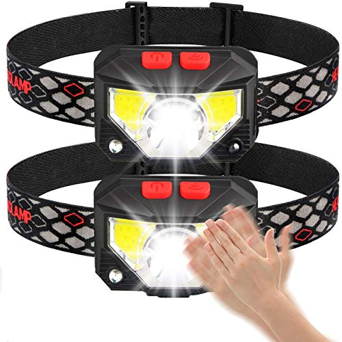 Linterna De Cabeza LED Ligero Super Brillante Impermeable USB Recargable Ajustable 8 Modos para Correr Pesca Camping Senderismo Niños