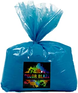 Color Powder Blue 25lbs -Ideal for Fun Run Events, Holi Festivals, Youth Group Color Wars and More. Orange, Red, Purple, Pink, Yellow, Teal, Green Available