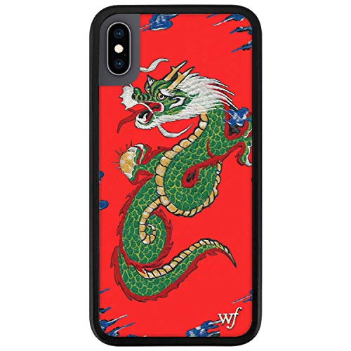 Wildflower Limited Edition Cases for iPhone X and XS (Red Dragon)