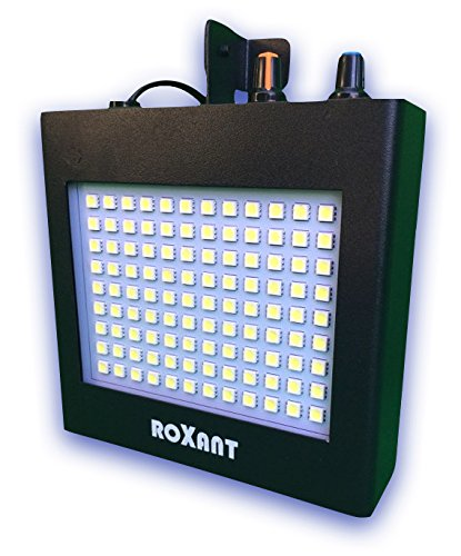 Roxant Pulse Ultra Bright LED Strobe Light (Metal Case) - Manual & Sound Activated Mode & Adjustable Flash Speed Control