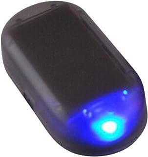 Goshang 車のソーラーアラーム シミュレートされた模倣の警告 ダミー セキュリティライト