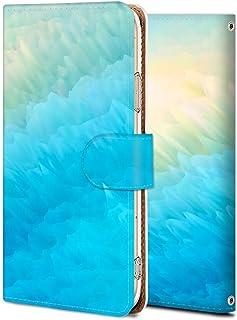 Xperia XZs SOV35 手帳 ケース SO-03J 保護 カバー エクスペリア XZs 専用 耐衝撃 カメラ穴 スタンド機能 高級 PUレザー 全面保護 横開き 軽量 薄型 青々と輝く ファッション シンプル 15096828