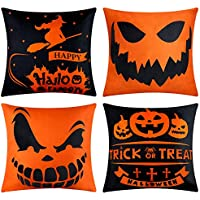 4-Pack Johouse Halloween Pillow Covers