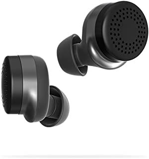 Here One Wireless Smart Earbuds: 3-in-1 Noise Cancelling & In Ear Bluetooth Earbuds - Android App & Bluetooth Compatible and iPhone Bluetooth Compatible (Black)