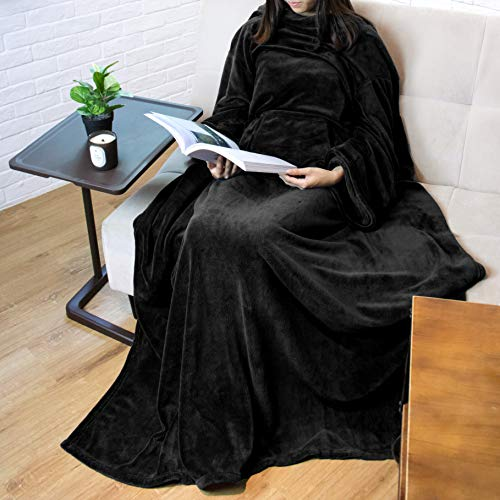 Our #1 Pick is the Pavilia Premium Fleece Wearable Blanket to Relax In