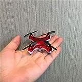 AORED Drone de protección múltiple con píxeles de 500 vatios for niños y Principiantes for Jugar Drone de Bolsillo Mini Rojo en Interiores Modo X20 sin Cabeza más Nuevo 2.4 GHz Nano LED RC Quadcopter