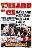 MCPosters - Wizard of Oz Original 1939 Glossy Finish Movie Poster - MCP705 (24' x 36' (61cm x 91.5cm))