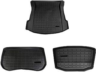 Front Box Mat Semoic Bagage Avant de Voiture Tapis de Rangement Plateau de Chargement Valise /éTanche Pad de Compatible pour Tesla Model 3