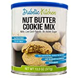 Diabetic Kitchen Nut Butter Cookie Mix is Low Carb, Keto-Friendly, Gluten-Free, 7g of Fiber, No...