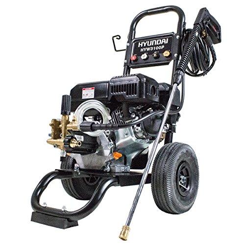 Hyundai Petrol Pressure Washer 7hp 212cc 4-Stroke Engine 2800psi HYW3100P