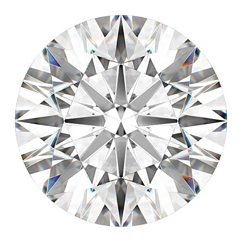 CERTIFIED 2.0 MM / 0.035 Cts. Natural Loose Diamonds, Pack of 5, Fancy White-F/G Color Round Brilliant Cut VS1-VS2 Clarity 100% Real Diamonds by IndiGems