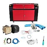 ZauberLu Laser-Graviermaschine KH9060 Co2 Laser-Graveur 100W Fräsmaschine