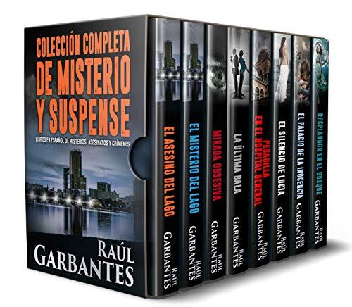 Colección completa de misterio y suspense: libros en español de misterios, asesinatos y crímenes