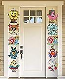 TUWUNA Spongebob Party Supplies Spongebob Cutouts Door Sign Room Wall Decor...