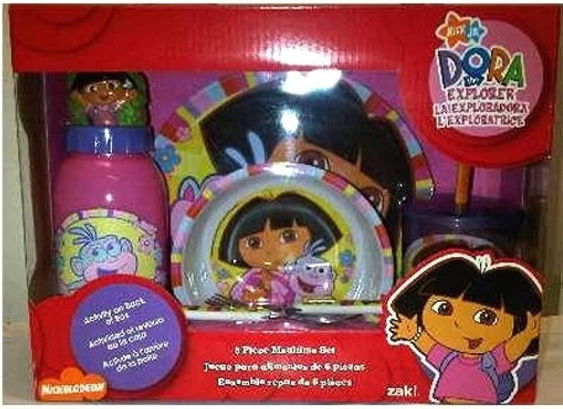 Dora The Explorer 6 Piece Mealtime Set